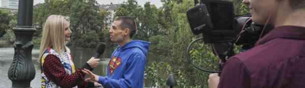 Stefan im VIP-Talk mit Bonny